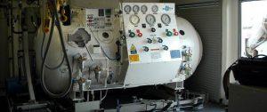 Instalación y mantenimiento de cámaras hiperbáricas